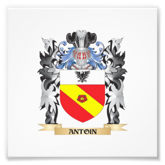 Antoin Coat of Arms - Family Crest Photo Print
