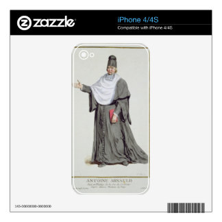 Antoine Arnauld (1612-94) from 'Receuil des Estamp iPhone 4S Decal