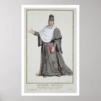 Antoine Arnauld (1612-94) from 'Receuil des Estamp Poster
