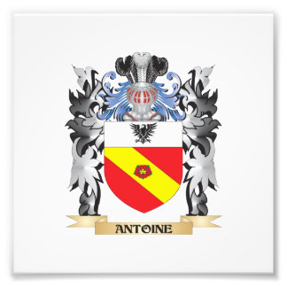 Antoine Coat of Arms - Family Crest Photo Print