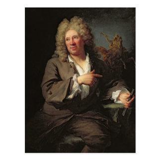 Antoine Coysevox  1711 Postcard