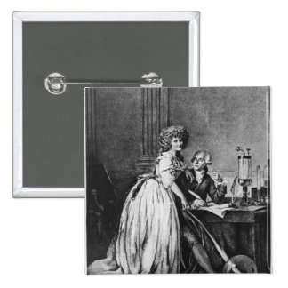 Antoine Laurent Lavoisier  and his wife Button