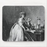 Antoine Laurent Lavoisier  and his wife Mouse Pad