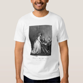 Antoine Laurent Lavoisier  and his wife T Shirt