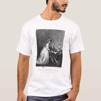 Antoine Laurent Lavoisier  and his wife T-Shirt