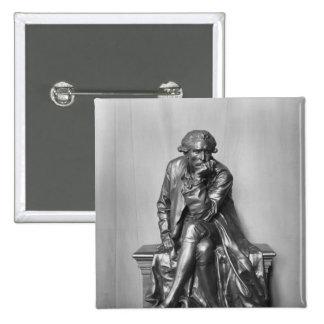 Antoine Laurent Lavoisier 2 Inch Square Button