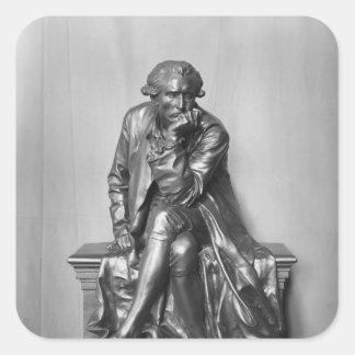 Antoine Laurent Lavoisier Square Sticker