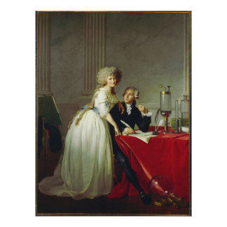 Antoine-Laurent Lavoisier y esposa Impresiones