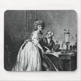 Antoine Laurent Lavoisier y su esposa Mouse Pads