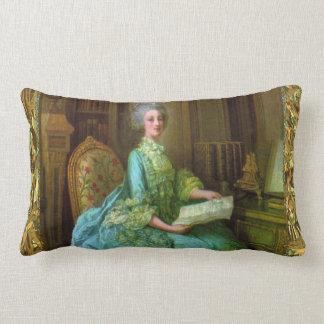 Antoinette Elegance Baroque lumbar Throw Pillow