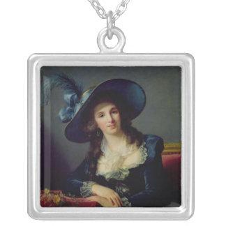 Antoinette-Elisabeth-Marie d'Aguesseau Silver Plated Necklace