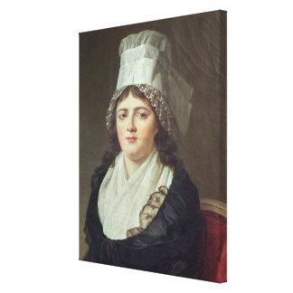 Antoinette Gabrielle Charpentier  1793 Canvas Print