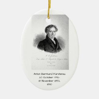Anton Bernhard Furstenau 1830 Ceramic Ornament