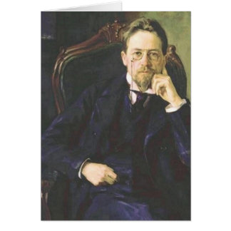 Antón Chekhov 1898 Felicitacion