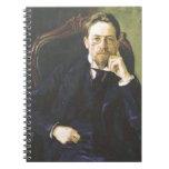 Antón Chekhov 1898 Libreta Espiral