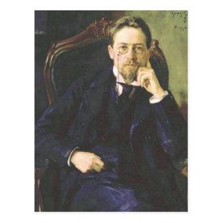 Antón Chekhov 1898 Postal