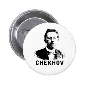 Anton Chekhov 2 Inch Round Button