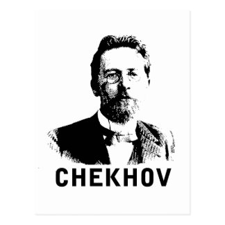 Antón Chekhov Tarjeta Postal