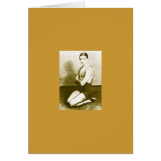 Anton Dolin Le Train Bleu Ballet Card