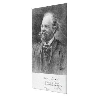 Anton Dvorak, 1894 Canvas Print