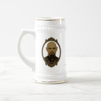 Anton LaVey Memorial Beer Stein Coffee Mugs