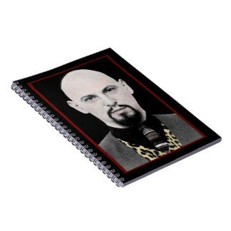 Anton LaVey Spiral Notebook