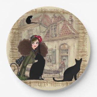 Anton Pieck - Dutch Homes Paper Plate