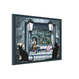 Anton Pieck incorparated reproduction Canvas Print