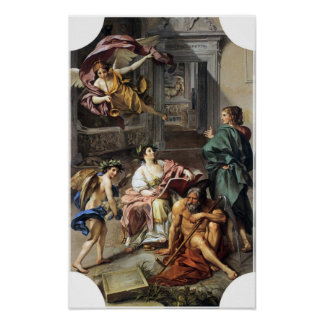 Anton Raphael Mengs - Allegory of History Poster