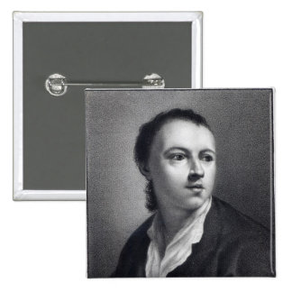 Anton Raphael Mengs, engraved by Nicolaus Mosman Pinback Button