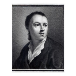 Anton Raphael Mengs, engraved by Nicolaus Mosman Postcard