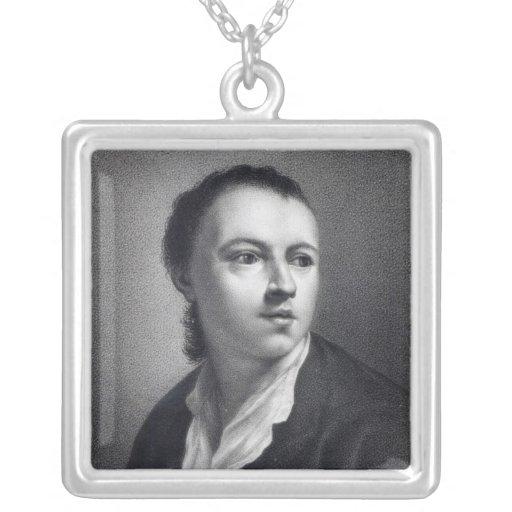 Anton Raphael Mengs, grabado por Nicolaus Mosman Collar