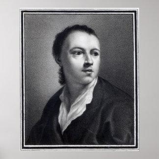 Anton Raphael Mengs, grabado por Nicolaus Mosman Póster