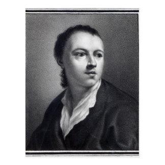 Anton Raphael Mengs, grabado por Nicolaus Mosman Postal