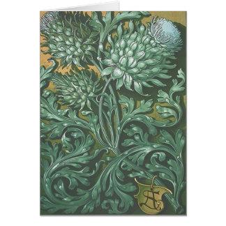 Anton Seder Art Nouveau Card
