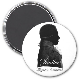 Anton Stadler 3 Inch Round Magnet