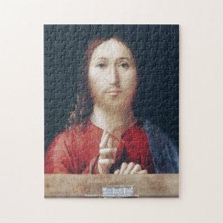 Antonello Damessina - Christ Blessing puzzle