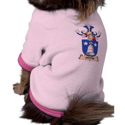 Antoni Family Crests Pet Shirt