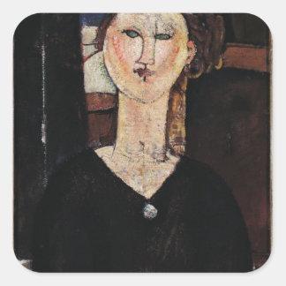 Antonia, c.1915 square sticker