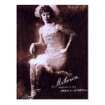 Antonia la señora tatuada tarjetas postales
