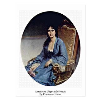 Antonietta Negroni Morosini By Francesco Hayez Postcard