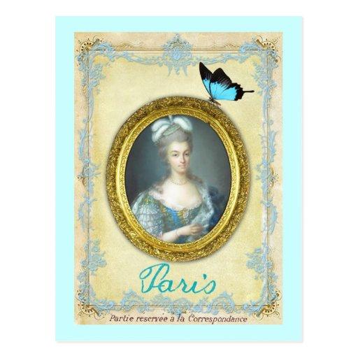 Antoniette y París Postales