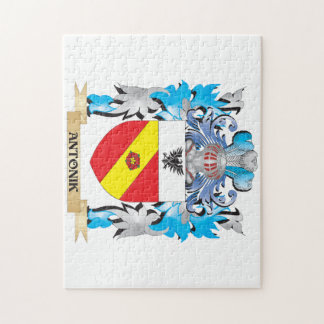 Antonik Coat Of Arms Jigsaw Puzzle