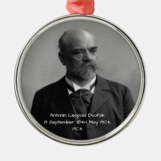 Antonin Leopold Dvorak 1904 Metal Ornament