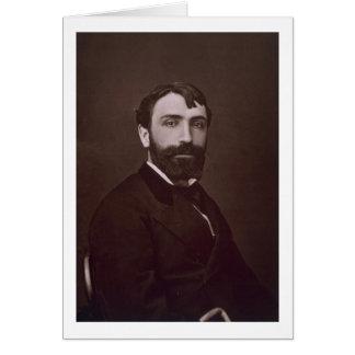 Antonin Mercie (1845-1916), de 'Galerie Contempo Tarjeta De Felicitación
