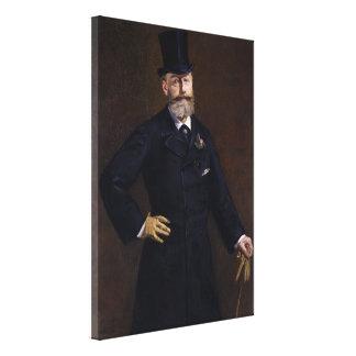 Antonin Proust by Edouard Manet Canvas Print