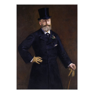 Antonin Proust by Edouard Manet Cards