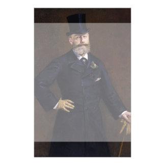 Antonin Proust by Edouard Manet Flyer