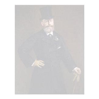 Antonin Proust by Edouard Manet Letterhead