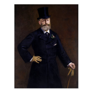 Antonin Proust by Edouard Manet Postcard